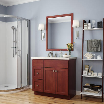 Amesbury Cherry Bathroom Vanity