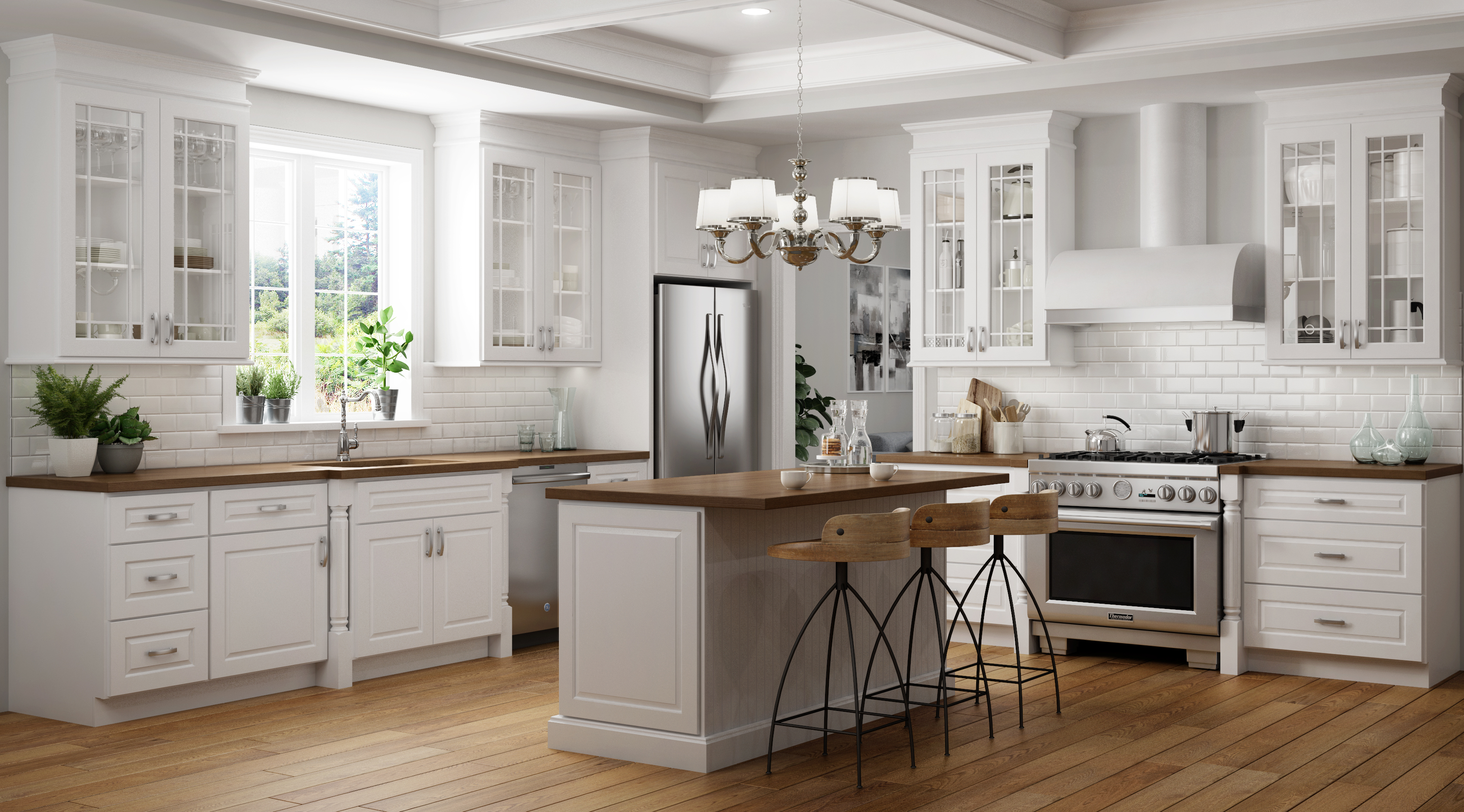 Change Up Your Kitchen's Color