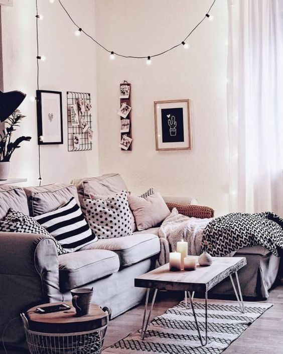 String Lights - Apartment Therapy